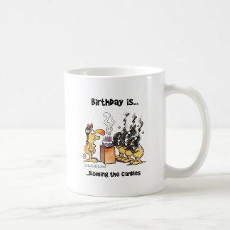 Birthday is.. Blowing The Candles Coffee Mug