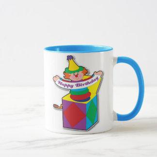 Birthday Jack in Box Mug