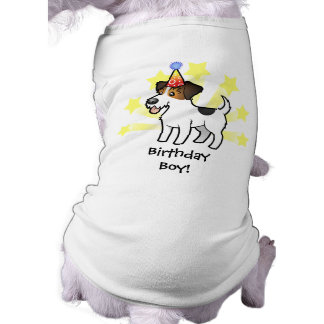 Birthday Jack Russell Terrier Dog T-shirt