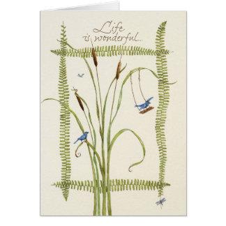 Birthday/Life is Wonderful Card