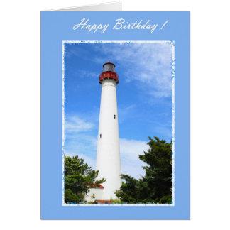 Birthday Lighthouse Card