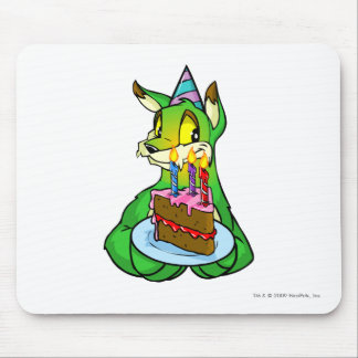 Birthday Lupe Mouse Pad