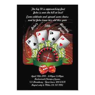 Birthday man any age,poker,gambling,casino card