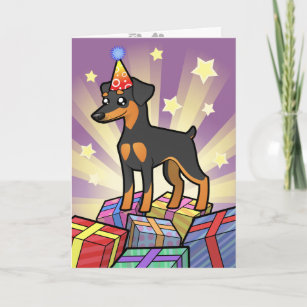 Men Miniature Pinscher dog pool party Flip Flop for Mens Cool House Shoes