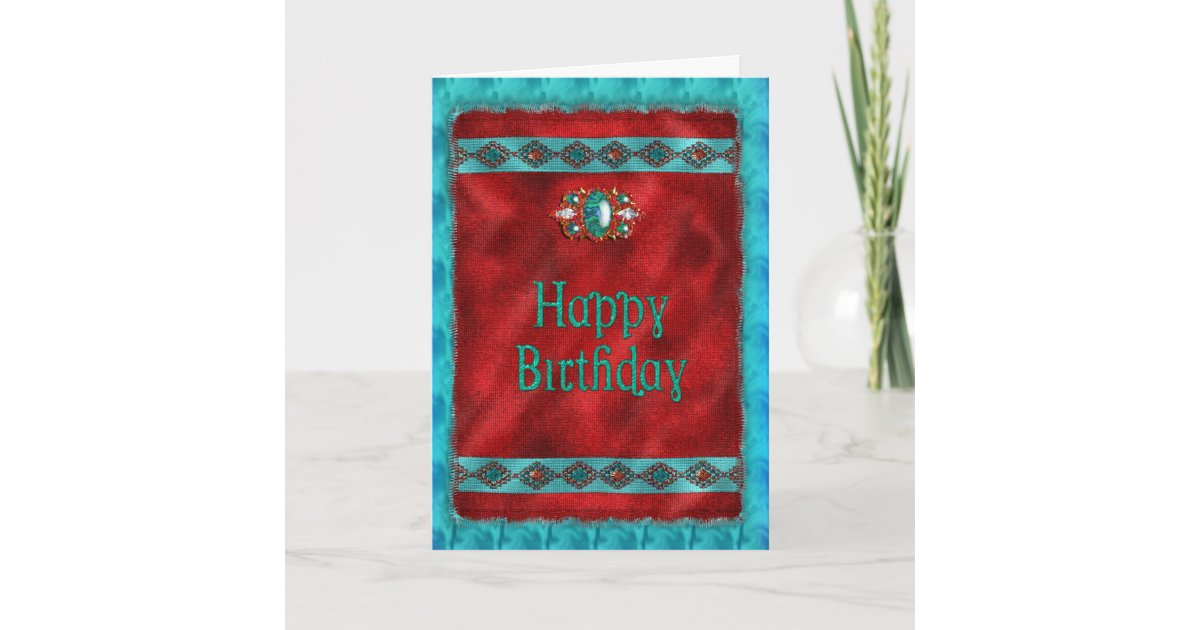 Birthday Native American Southwestern Style Card Zazzle
