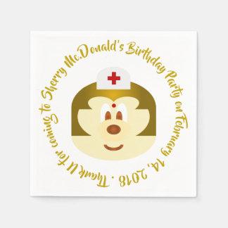 Birthday - Nurse 鮑 鮑 Paper Napkin
