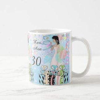 Birthday or Bachelorette Party Diva Princess Girl Basic White Mug