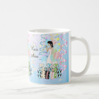 Birthday or Bachelorette Party Diva Princess Girl Classic White Coffee Mug
