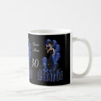 Birthday or Bachelorette Party Diva Princess Girl Coffee Mug