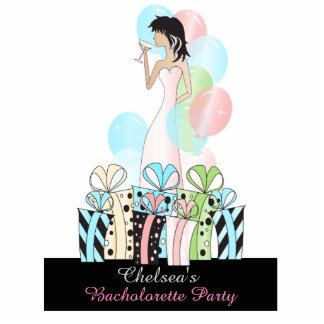 Birthday or Bachelorette Party Diva Princess Girl Standing Photo Sculpture