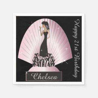 Birthday or Bachelorette Party Napkins