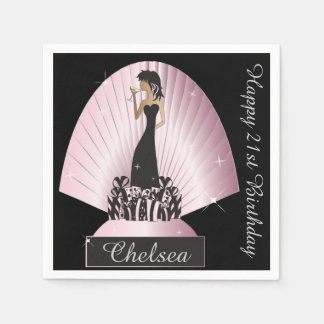 Birthday or Bachelorette Party Napkins Paper Napkins