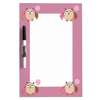 Birthday Owl Memo Board