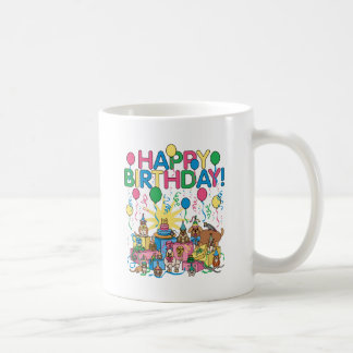 Birthday Party Animals Coffee Mug