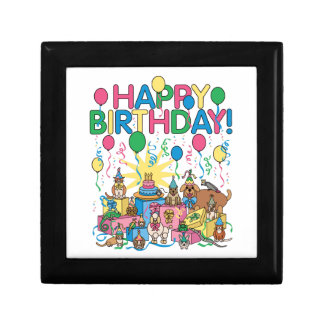 Birthday Party Animals Gift Box