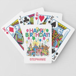 Birthday Party Animals Poker Deck