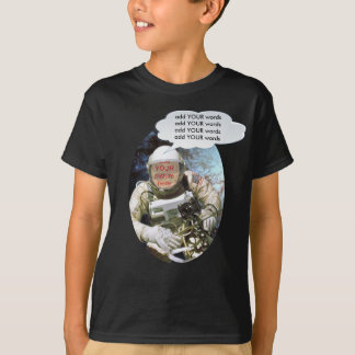 Birthday Party Astronaut faceinhole T-Shirt
