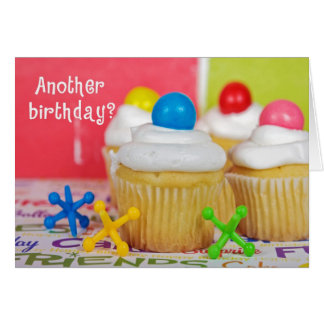 Birthday Party Cakes Card