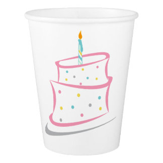 Birthday Party Cups Paper Cup