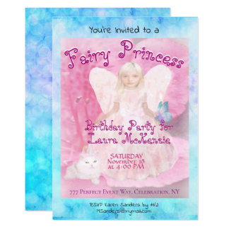 Birthday Party | Fairy Princess Card