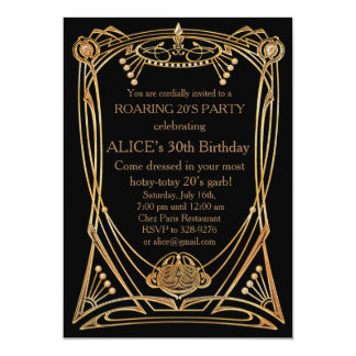Birthday Party Invitation Any age