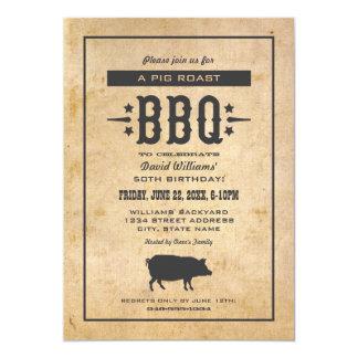 Birthday Party Invitations | Backyard BBQ Theme