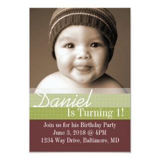 Birthday Party Invite | B-Day I |brgr