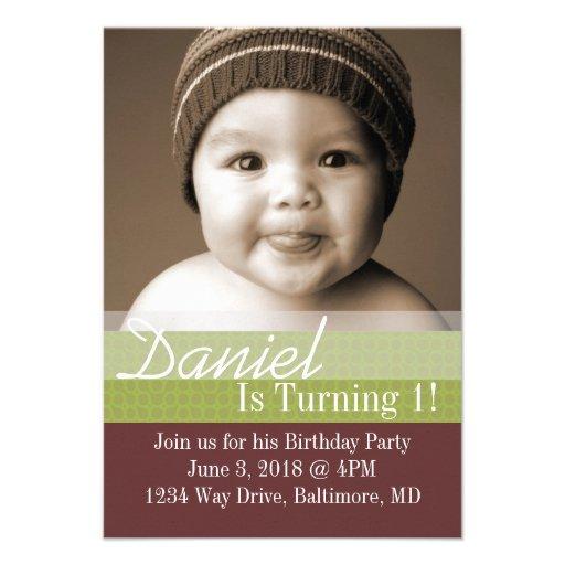 Birthday Party Invite | B-Day I |brgr