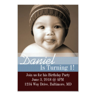 Birthday Party Invite | B-Day I |dbrbl