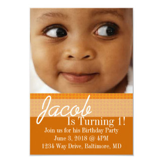 Birthday Party Invite | B-Day |or