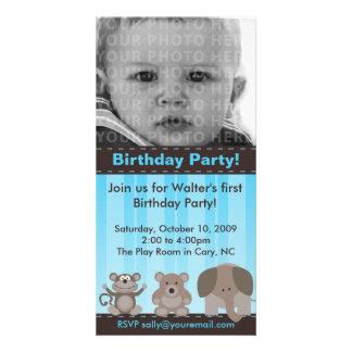 Birthday Party Photo Card