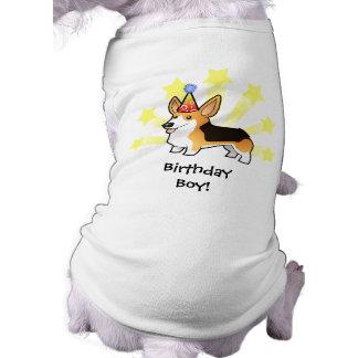Birthday Pembroke Welsh Corgi Dog Tee Shirt