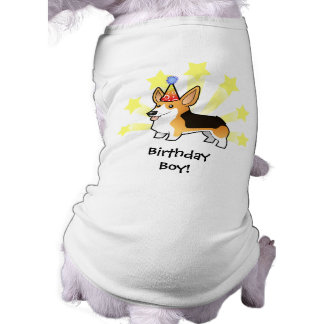 Birthday Pembroke Welsh Corgi Shirt