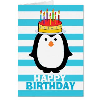 Birthday Penguin Card