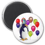 Birthday Penguin Fridge Magnet