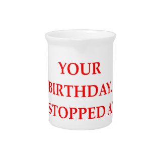 birthday pitcher