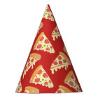 Birthday Pizza Party Party Hat