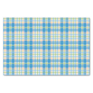 Birthday Plaid Tissue Paper