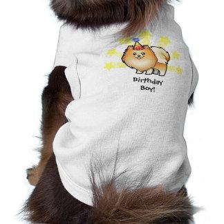Birthday Pomeranian Doggie T Shirt