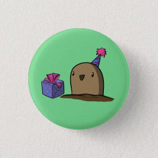 Birthday Potato 1 Inch Round Button