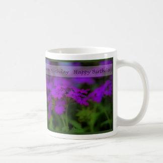 Birthday - Purple Enchantment Basic White Mug