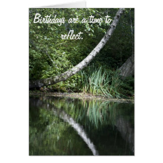 Birthday Reflection Card