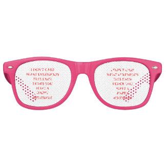 birthday retro sunglasses