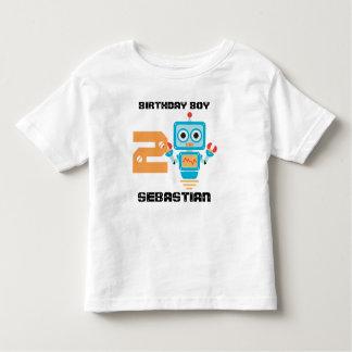Birthday Robot Age Tshirt