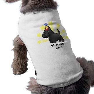 Birthday Scottish Terrier Dog Tshirt
