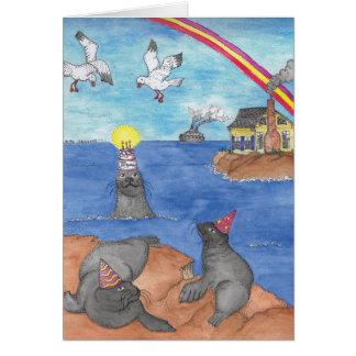 BIRTHDAY - Seals Card