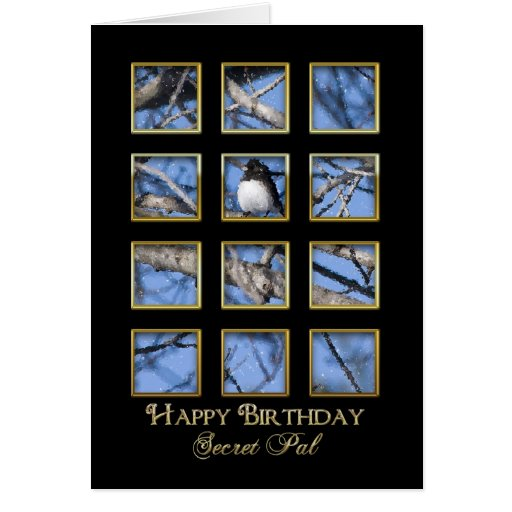 Birthday - Secret Pal Card