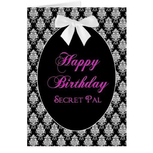 BIRTHDAY - SECRET PAL - MEMORIES GREETING CARDS