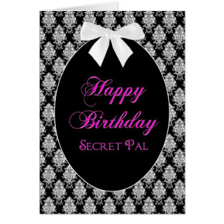 BIRTHDAY - SECRET PAL - MEMORIES GREETING CARD