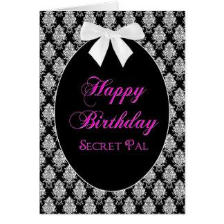 BIRTHDAY - SECRET PAL - MEMORIES GREETING CARD